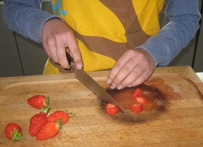 Ateliers culinaires avec des enfants pendant les vacances